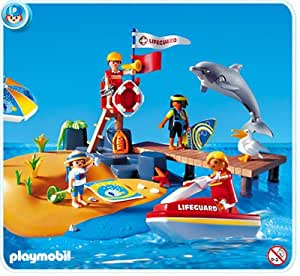 Playmobil 3664 The Beach Amazon Co Uk Toys Amp Games
