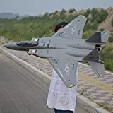 Big Size 1.1 Meter F15 EPO Shockproof 2.4G RC Airplane Remote Control rc Eagle Hawk type light fighter jet plane kit format