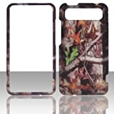 2D Camo Trunk V HTC Vivid / Holiday LTE 4G Raider 4G X710e AT&T Case Cover Hard Phone Case Snap-on Cover Rubberized Touch Faceplates