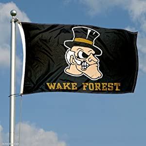 Buy Wake Forest Demon Deacons Double-Sided 3x5 Flag by College Flags and Banners Co.