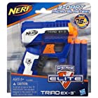 Nerf N-Strike Elite Triad EX-3 Blaster Toy, Kids, Play, Children