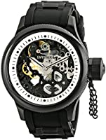 Invicta Men's Russian Diver Skelton Merchanical Analogue Watch