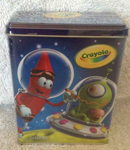 Crayola Imagination Tin Crayons - Space (w/ 24 ct Crayons)