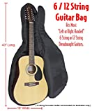Performance Plus GB580 Professional Heavy Duty 600 Denier Nylon Dreadnought Guitar Bag