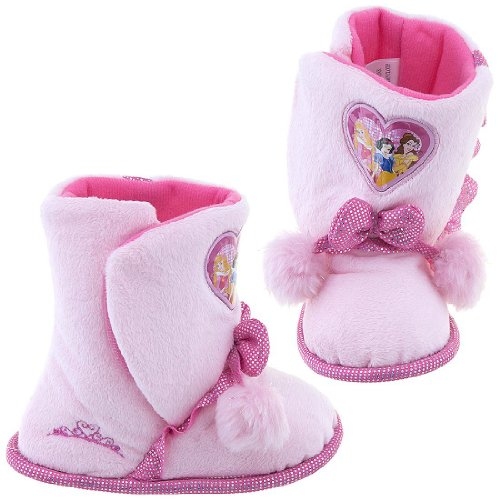 Disney 0PRF231 Princess Slipper (Toddler/Little kid),Pink,Medium (7-8 M US Toddler)
