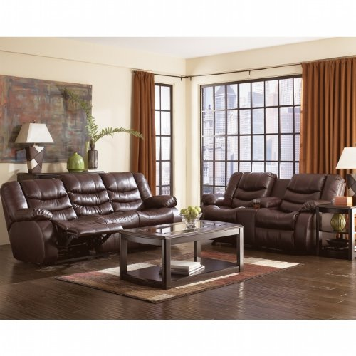 Buy Low Price AtHomeMart Burgundy Reclining Sofa and Loveseat Set (ASLY9140188_9140194_2PC)
