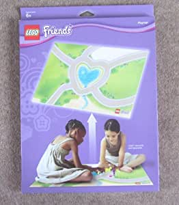 Amazon Com Lego Friends Heartlake City Playmat Toys Amp Games