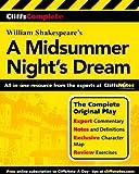 CliffsComplete A Midsummer Night s Dream Paperback - April 29, 2001