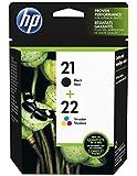 HP 21/22 Combo Pack - Print cartridge - 1 x black, colour (cyan, magenta, yellow)