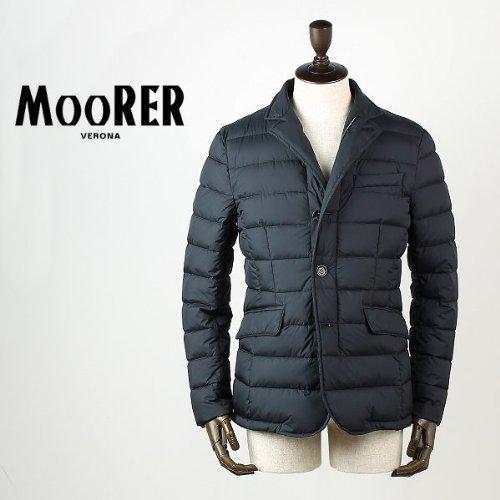ネイビー(C75) 50 【2013-2014AW 正規】MOORER ZAYN-OP ムーレー メンズ テーラード ダウンジャケット (ネイビー DARK BLU)