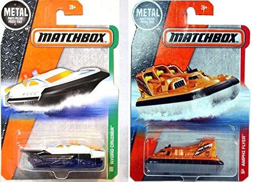 matchbox sea set 2016 hydro cruiser sea boat new model amphi flyer hovercraft ocean set by. Black Bedroom Furniture Sets. Home Design Ideas