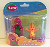 Barney & Friends Figures, Barney and Riff