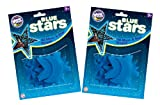 The Original Glowstars Company Cosmic Glow Stars (Twin Pack, Blue)