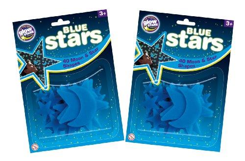 The Original Glowstars Company - Pegatinas para pared y cristal (Brainstorm B8990) [Importado de Inglaterra]