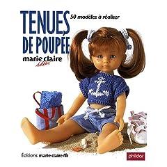 Tenues de poupée : 50 Modèles à réaliser