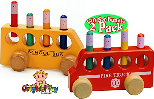 The-Original-Toy-Company-Pop-Up-Wooden-Fire-Truck-Pop-Up-Wooden-School-Bus-Gift-Set-Bundle-2-Pack