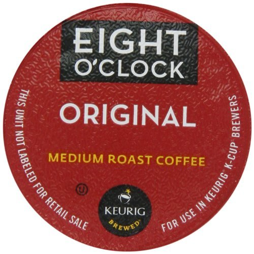 48 Count - Eight O'Clock Original Blend k Cup For KEURIG Brewers