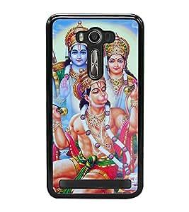 Lord Hanuman 2D Hard Polycarbonate Designer Back Case Cover for Asus Zenfone 2 Laser ZE550KL (5.5 INCHES)