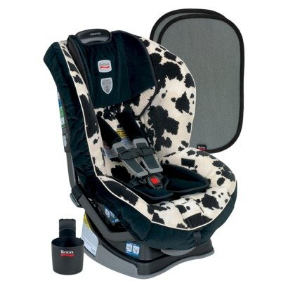 Britax Marathon G4 Plus Convertible Carseat Cowmooflage back-847335