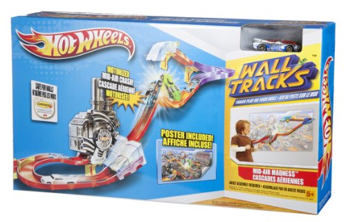 Mattel Hot Wheels Wall Tracks Mid-Air Madness