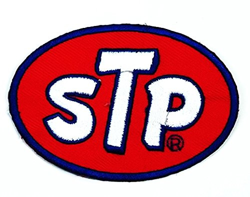 Stp sponsor motorsport racing diy logo embroidered woven