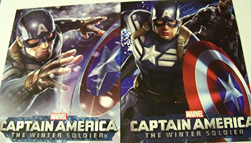 Marvel Captain America the Winter Soldier 2 Folder Set ~ SHIELD, Super-Soldier