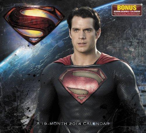 2014 Superman Man of Steel Wall Calendar
