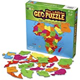 GeoPuzzle Africa and the Middle East - Educational Geography Jigsaw Puzzle (65 pcs) - by Geotoys