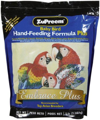 Zupreem 230003 Embrace Handfeed Food For Birds, 5-Pound front-165940