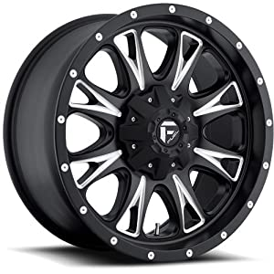 Fuel Throttle 17 Black Wheel / Rim 6×135 & 6×5.5 with a 20mm Offset and a 106.4 Hub Bore. Partnumber D51317909857