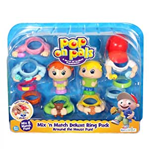 Pop On Pals Around The House Combo Pack