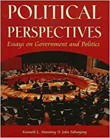 political perspectives essays on government and politics