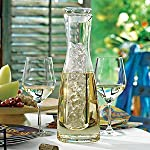 Wine Enthusiast 2-Piece Chilling Carafe