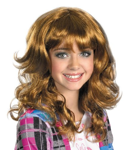 Disguise Disney Shake It Up Cece Wig Costume Accessory, One Size Child - 1