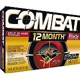 Combat 12 Month Roach Bait - 18/Pack, 6/Case