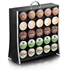 Mind Reader The Wall 50 Capacity K-Cup Coffee Pod Display Rack Holder, Black