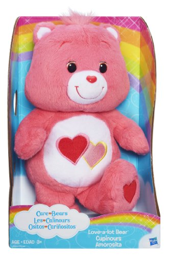 Care Bears Love-a-lot Bear 12 Inch Plush