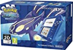 Nintendo 2DS Transparent Blue with Po...