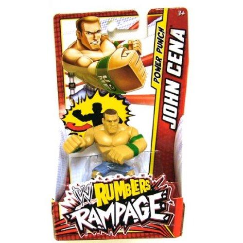 WWE Wrestling Rumblers Mini Figure John Cena [Power Punch] - 1