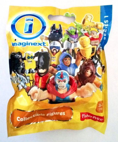 Fisher-Price Imaginext Blind Bag Series 1 Collectible Figures (746775250539)