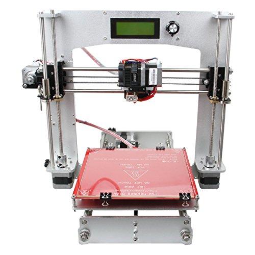 WER® Aluminum Prusa I3 3D Printer DIY Kit Self-assembly Desktop Computer 3d Printer