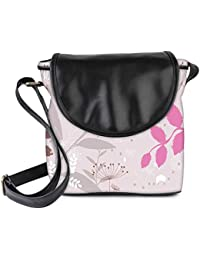 Snoogg Light Color Pattern Womens Sling Bag Small Size Tote Bag