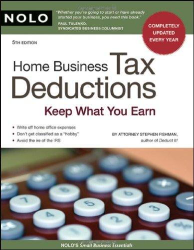 Direct Sales Tax Deductions