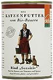 defu Bio Nassfutter Rind für Katzen Gluten und Getreidfrei 410 g