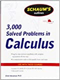 img - for Schaum's 3,000 Solved Problems in Calculus book / textbook / text book