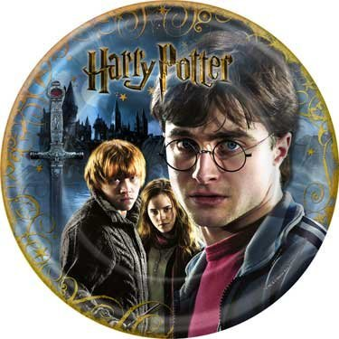 Harry Potter Party 9 Inch Dinner Plates - 8/Pkg.