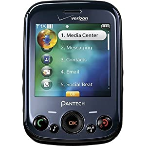 Pantech Jest Txt8040 Verizon Cell Phone (Data plan not required)