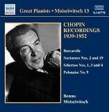 Benno Moiseiwitsch Chopin Recordings, Volume 3