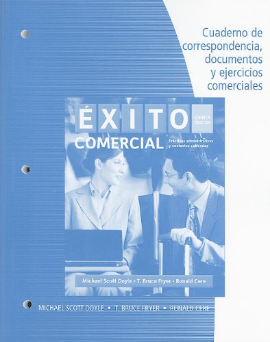 Student Activities Manual for Doyle/Fryer/Cere's Éxito...