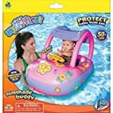 Aqua Leisure SunSmart Buggy float - Girl's Flower Sunshade Buggy